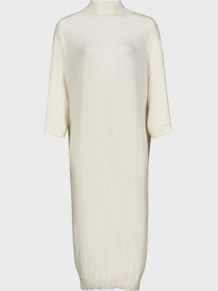 Шерстяное белое платье Kontatto