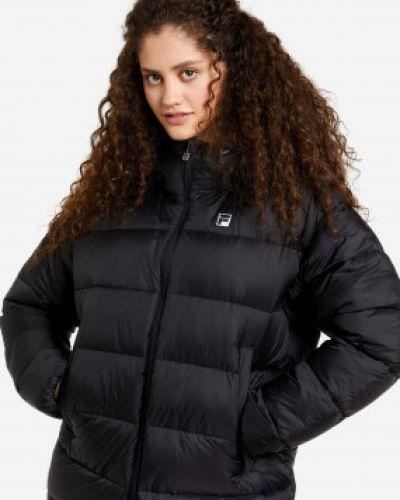 Куртка оверсайз - черная Fila