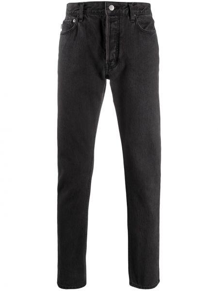 Klasyczne czarne jeansy bawełniane Ambush