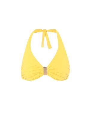 Желтый топ свободного кроя Melissa Odabash