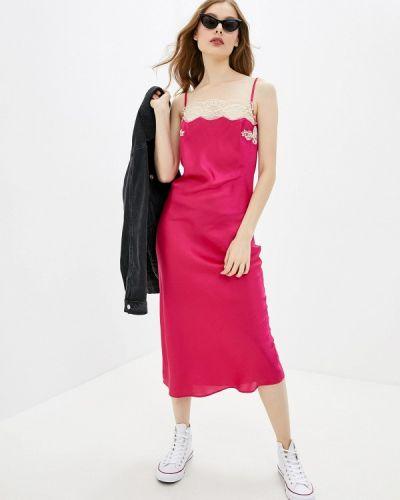 Платье розовое платье-комбинация River Island