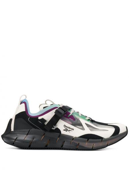 Białe sneakersy sznurowane koronkowe Reebok