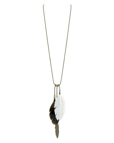Ожерелье черное розовый Nature Bijoux