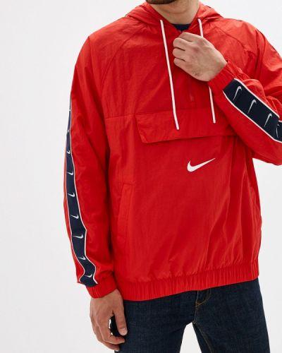 Ветровка красный Nike