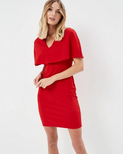 Красное платье Silvian Heach