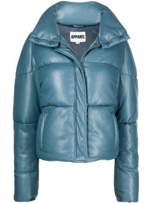 Niebieska kurtka puchowa Apparis