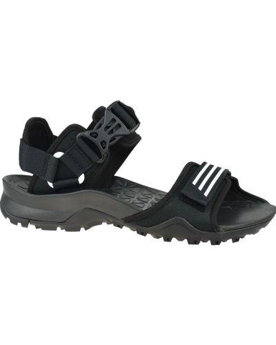 Czarne sandały sportowe Adidas Performance