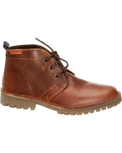 Кожаные ботинки коричневый Wrangler