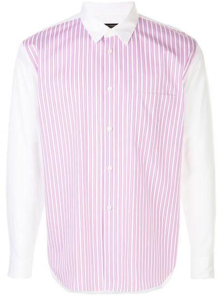 Koszula z długim rękawem klasyczna prosto Comme Des Garcons Homme Plus
