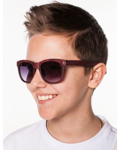 Красные солнцезащитные очки квадратные Orby
