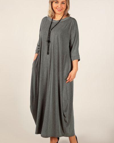 Платье трикотажное в стиле бохо милада