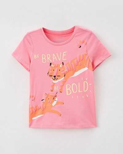 Розовая футболка с короткими рукавами Marks & Spencer
