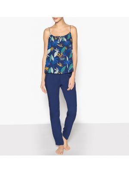 Пижама с брюками с карманами пижамный La Redoute Collections