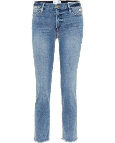 Прямые джинсы классические mom Frame
