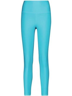 Синие леггинсы для йоги Alo Yoga