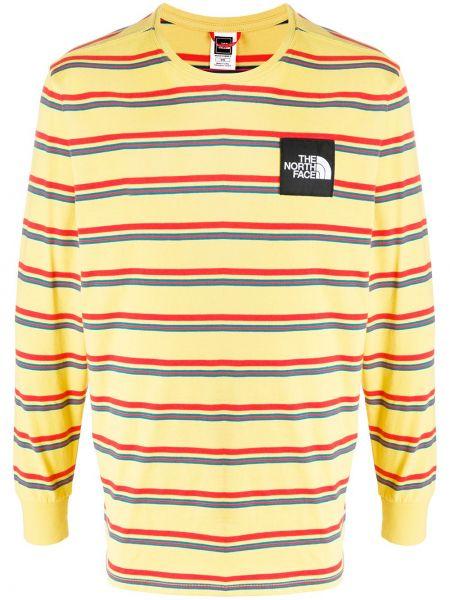 Koszula z długim rękawem prosto z łatami The North Face