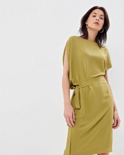 Платье турецкий зеленый Lusio