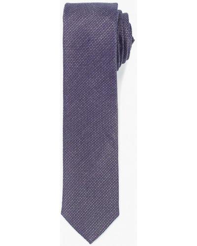 Серый галстук с бабочками Colletto Bianco
