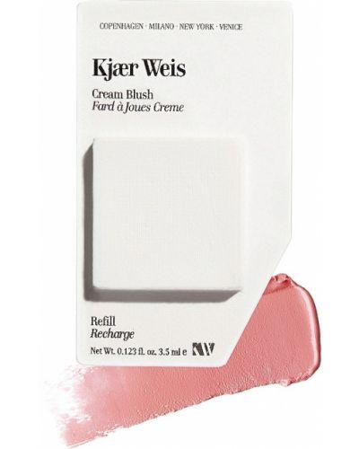 Кожаная пышная розовая кремовые румяна Kjaer Weis