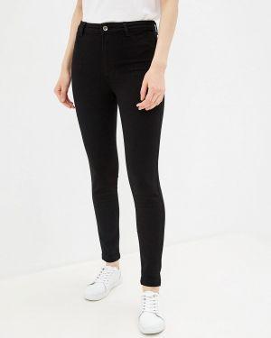 Черные джинсы-скинни с пайетками Calzedonia