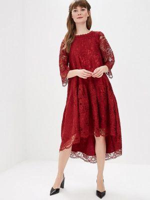 Вечернее платье красный мадам т