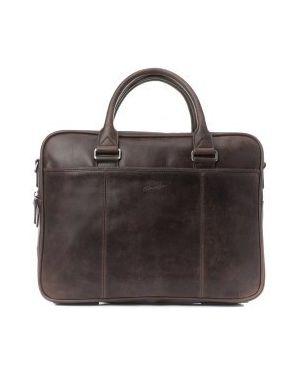Портфель темно-коричневый Gerard Henon