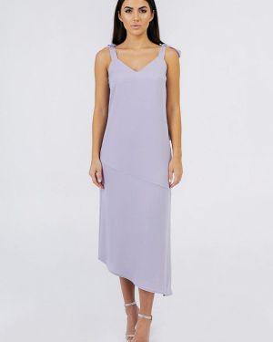 Вечернее платье фиолетовый весеннее Bessa