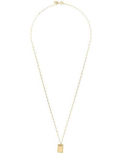 Ожерелье черный золотой Maria Black
