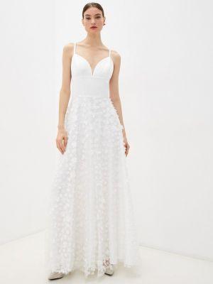 Прямое платье - белое Seam