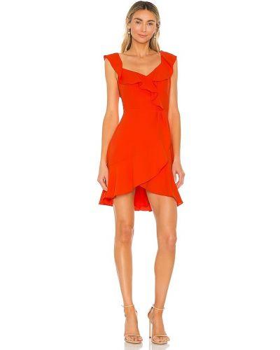 Czerwona sukienka mini Bcbgmaxazria