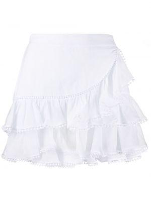 Юбка с завышенной талией - белая Charo Ruiz Ibiza