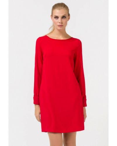 Повседневное платье красный осеннее Remix