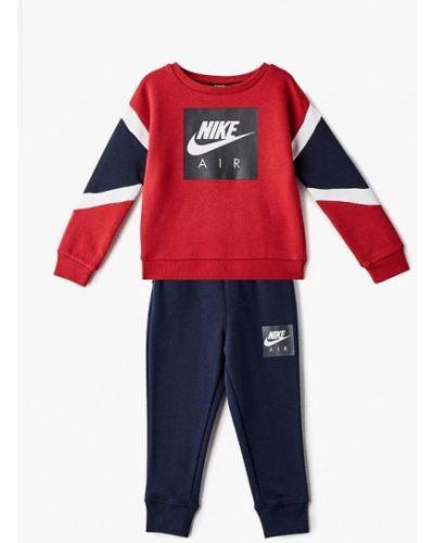 Спортивный костюм синий красный Nike