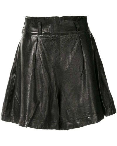 Однобортные черные шорты Issey Miyake Pre-owned