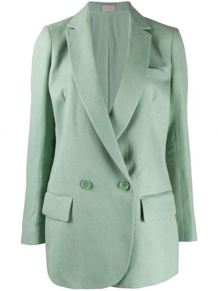 Зеленая прямая куртка на пуговицах с подкладкой Mrz