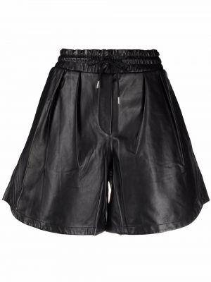 Шорты с карманами - черные Paul Smith