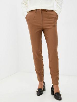 Бежевые зимние классические брюки Franco Vello