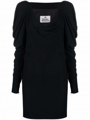 Черное платье макси длинное Vivienne Westwood