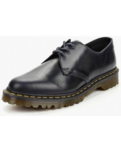 Синие туфли из искусственной кожи Dr Martens