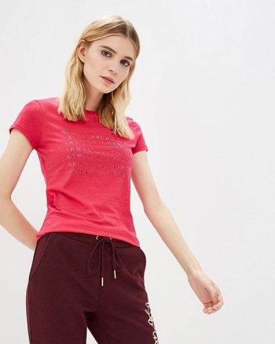 Розовая футболка 2019 Armani Exchange