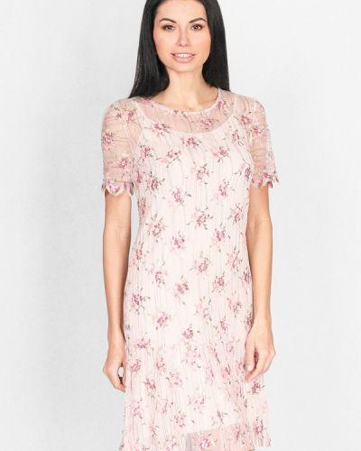 Платье весеннее бежевое Lila