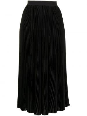 Czarna spódnica plisowana Barbara Bui