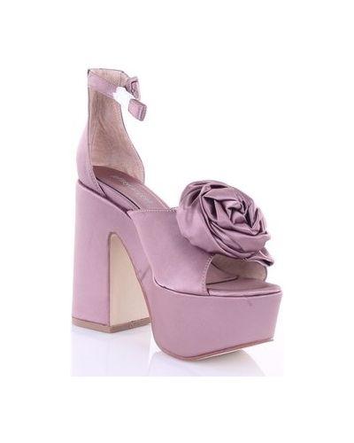 Sandały - fioletowe Jeffrey Campbell