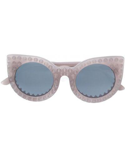 Солнцезащитные очки фиолетовый хаки Delalle