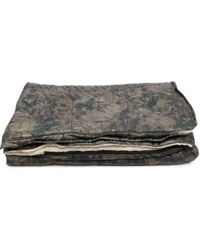 Зеленая сумка с карманами на молнии Carhartt Wip