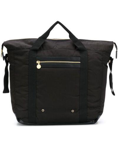 Брендовая черная сумка с ручками Stella Mccartney Kids