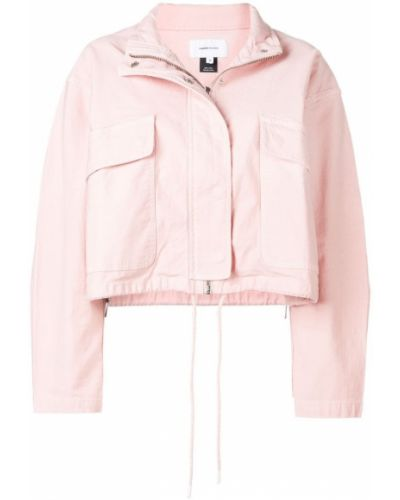 Куртка розовая на молнии Current/elliott