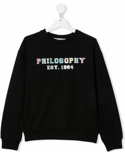Czarny sweter Philosophy Di Lorenzo Serafini