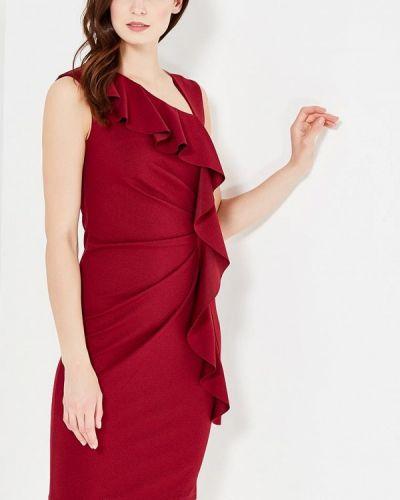 Платье весеннее красный Tantra