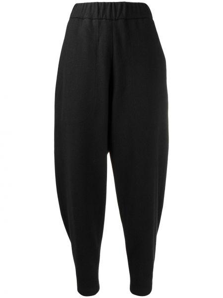 Спортивные брюки шерстяные черные Barena